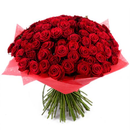 Bouquet 101 red rose 50 cm
