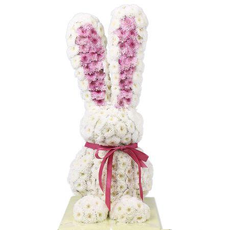 Bouquet White rabbit