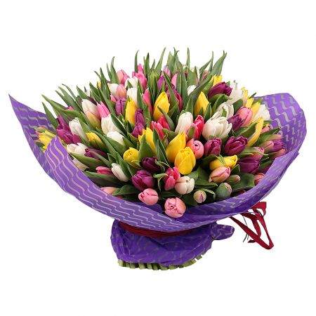 Bouquet Of the 101 tulips