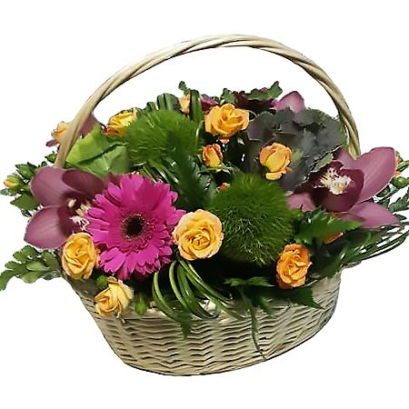 Bouquet Basket of flowers