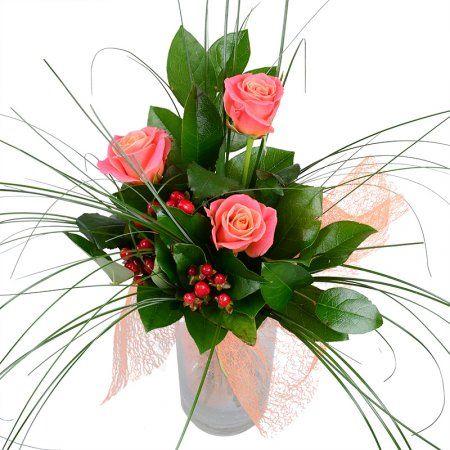 Bouquet Coral flame (wholesale)