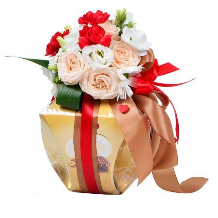 Bouquet Gift from heart (wholesale)