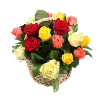 Order the composition of flowers with delivery