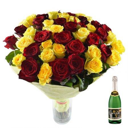 Bouquet Renaissance+champagne